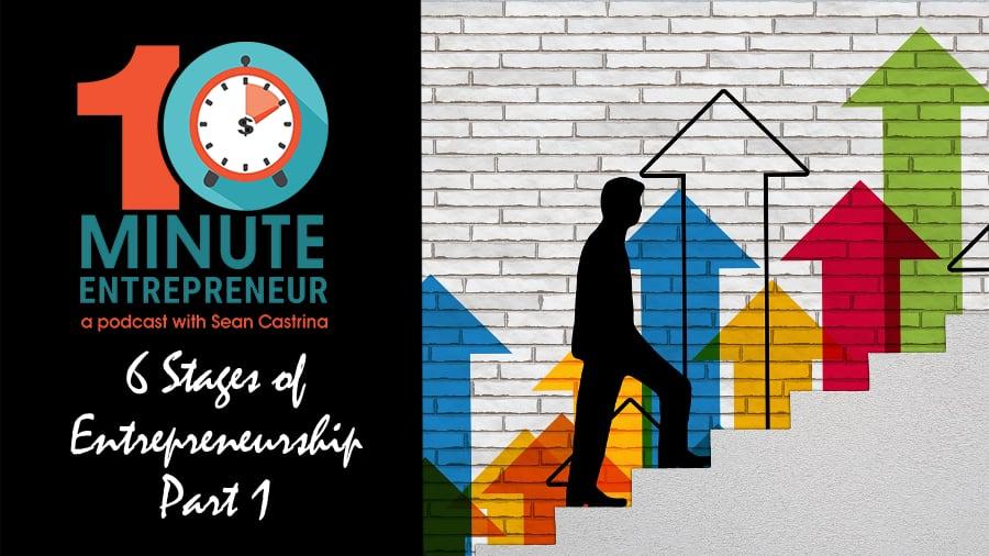 Ep 319: 6 Stages of Entrepreneurship (Part 1)