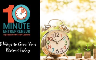 Ep 341: 3 Ways to Grow Your Revenue Today