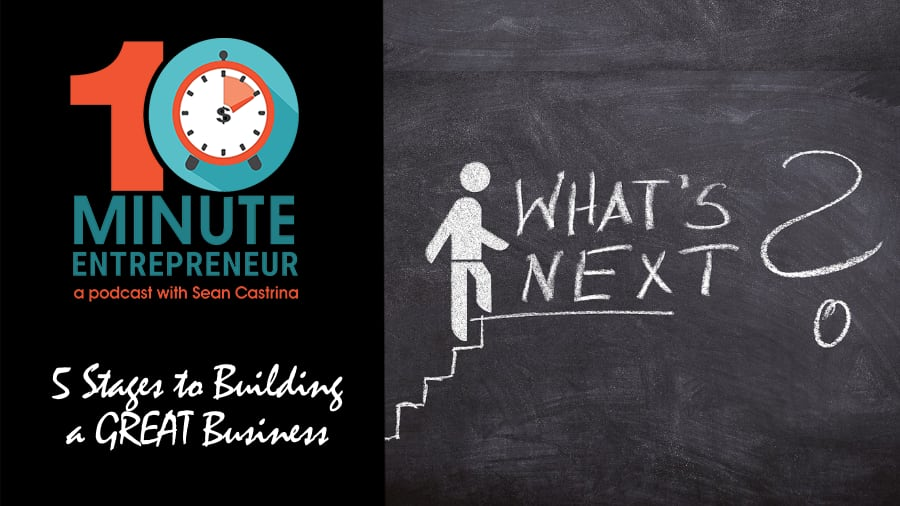Ep 344: 5 Stages to Building a GREAT Business